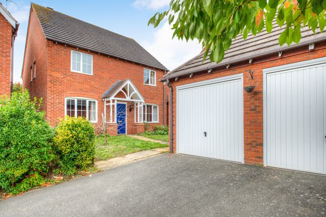 Thumbnail Detached house for sale in Holyoke Grove, Whitnash, Leamington Spa