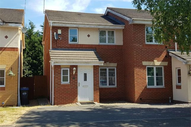 Thumbnail Semi-detached house to rent in Viaduct Close, Clifton Links, Rugby, Warwickshire