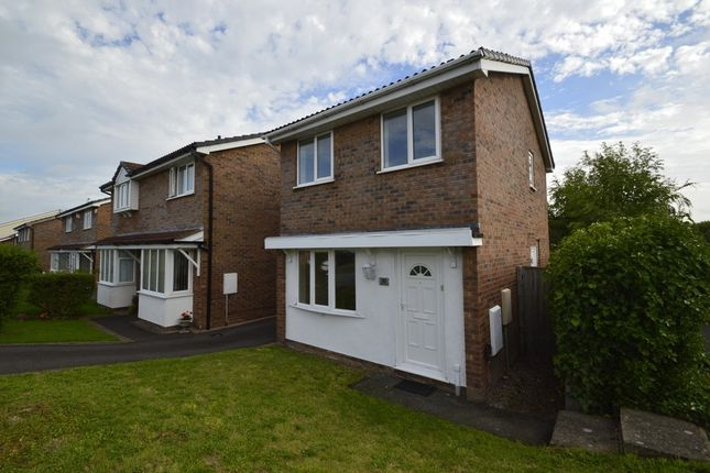 Thumbnail Detached house for sale in Stanhill Road, Shrewsbury