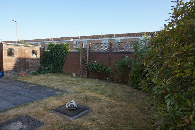 Rear Garden of Silverbrook Road, Liverpool L27