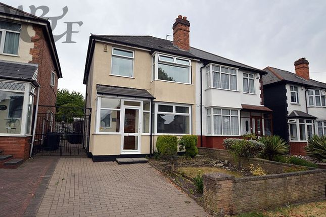 Thumbnail Semi-detached house for sale in Holly Lane, Erdington, Birmingham