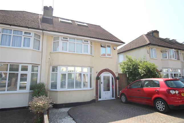 Thumbnail Semi-detached house for sale in Edward Close, St. Albans, Hertfordshire