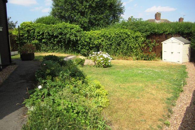 Garden of Standish Close, Sheffield S5