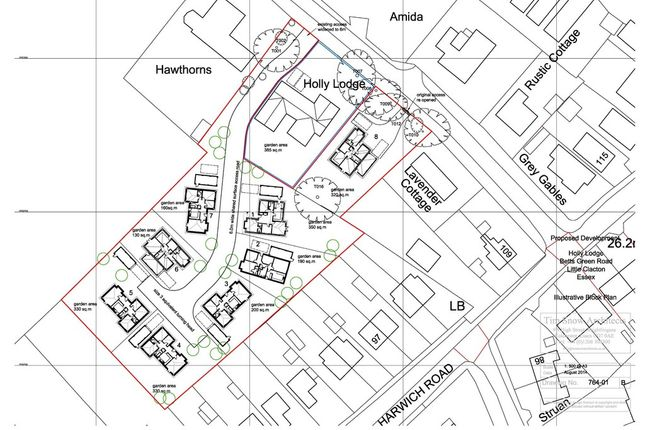 Thumbnail Land for sale in Betts Green Road, Little Clacton, Clacton-On-Sea