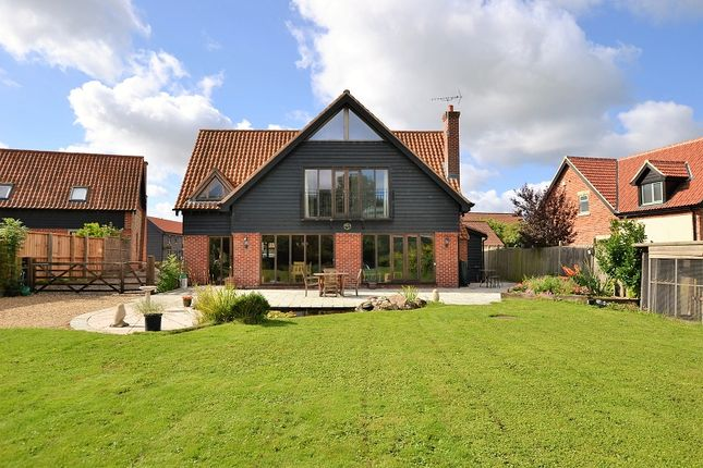 Thumbnail Detached house for sale in 3 Fen Willow Mews, East Harling, Norwich, Norfolk.
