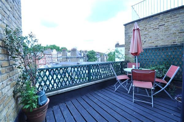 Roof Terrace of Old Brompton Road, London SW5