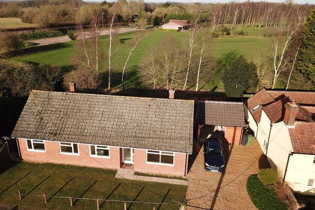 Thumbnail Bungalow for sale in Common Road, Welborne, Norfolk