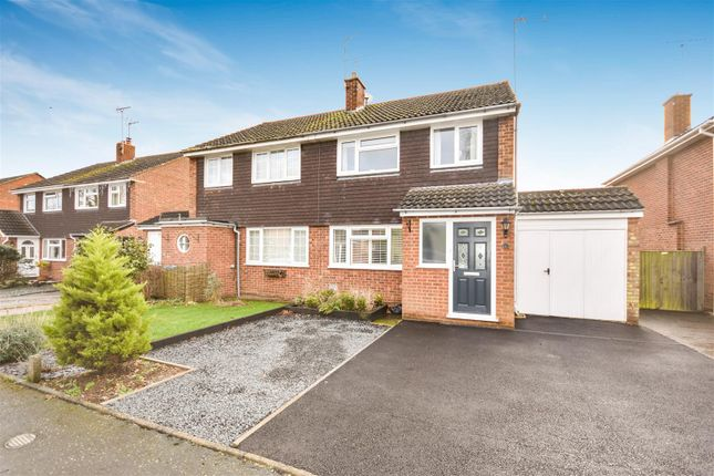 Thumbnail Semi-detached house for sale in Overstone Close, Wing, Leighton Buzzard