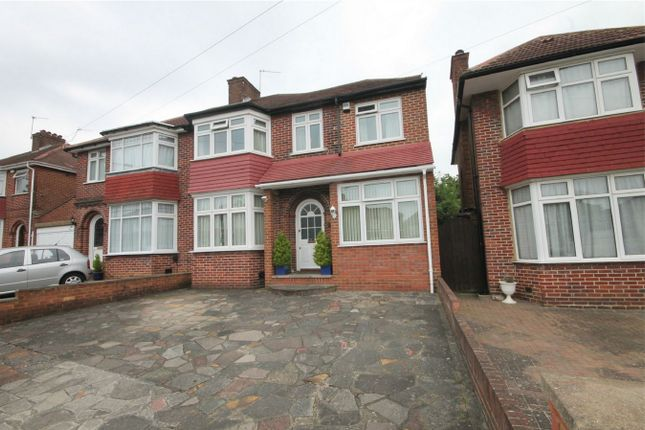 Thumbnail Semi-detached house for sale in St Andrews Drive, Stanmore, Middlesex