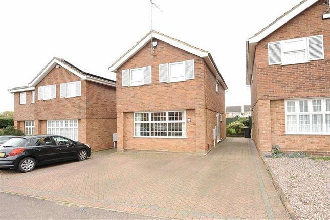 Thumbnail Detached house for sale in Somerford Road, Wellingborough