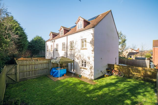 Thumbnail Town house for sale in Kingsfield, Rangeworthy, South Gloucestershire