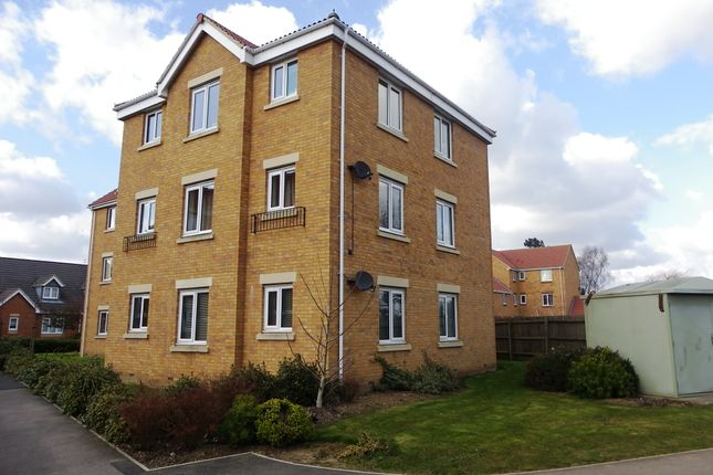 Thumbnail Flat for sale in Akela Close, Kettering