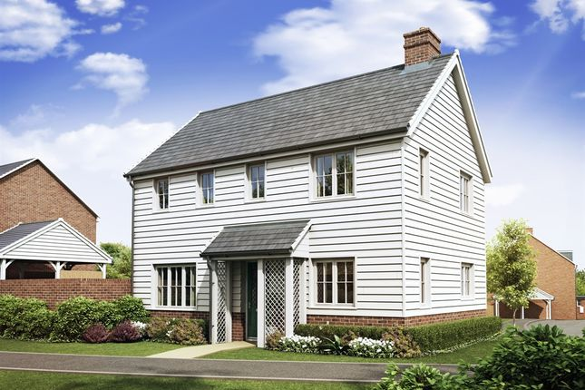 "Thumbnail Detached house for sale in ""The Clayton Corner"" at High Street, Newington, Sittingbourne"