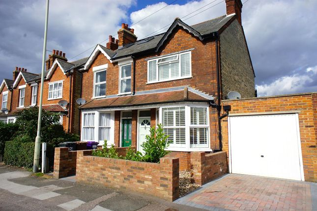 Thumbnail Semi-detached house for sale in Bearton Road, Hitchin