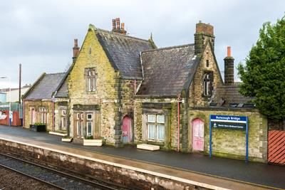 Thumbnail Commercial property for sale in Burscough Bridge Station House, Red Cat Lane, Burscough, Lancashire