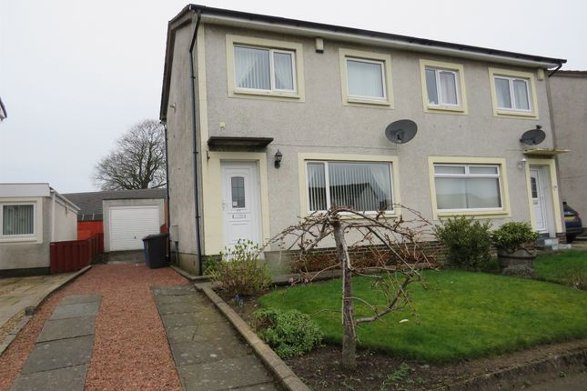 Thumbnail Semi-detached house for sale in Sillars Meadow, Irvine