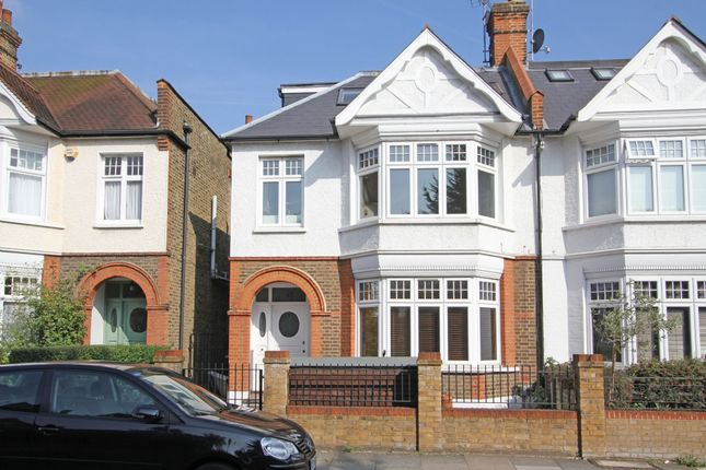 Thumbnail Semi-detached house for sale in Home Park Road, London