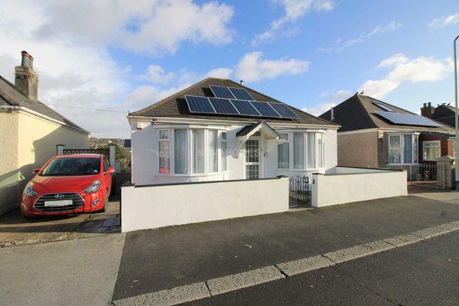 Thumbnail Detached bungalow for sale in Poole Park Road, St Budeaux