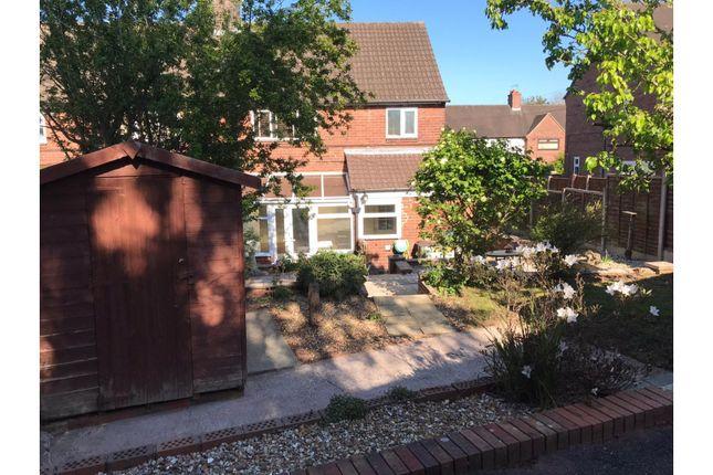 Rear Garden of Windermere Road Clayton, Newcastle ST5