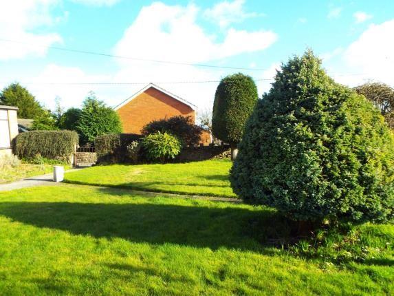 Garden of Celyn Place, Coedpoeth, Wrexham LL11