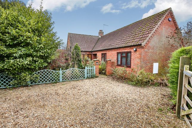Thumbnail Detached bungalow for sale in Highfield Close, Great Ryburgh, Fakenham