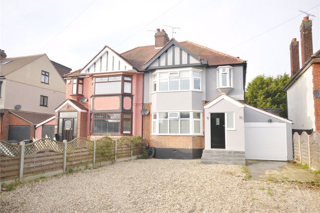 Semi-detached house for sale in High Road, North Weald, Epping, Essex