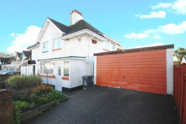 Thumbnail Semi-detached house for sale in Sidmouth, Devon