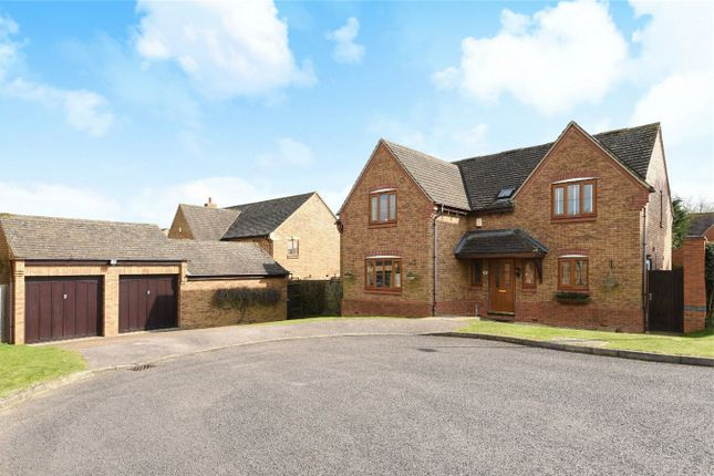 Thumbnail Detached house for sale in Pear Tree Close, Bromham, Bedford