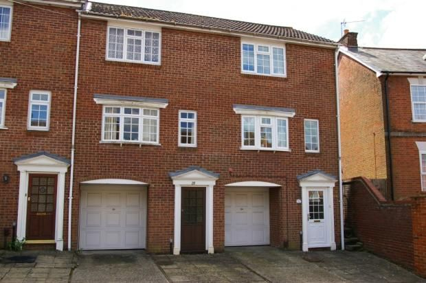 Thumbnail Town house to rent in Flaxfield Road, Basingstoke