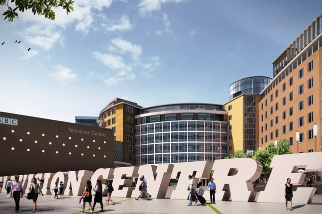 Thumbnail Flat for sale in The Helios, Television Centre, 101 Wood Lane, White City