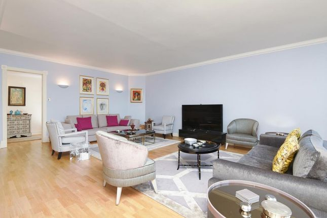 Living Room View of Circus Road, St John's Wood NW8,
