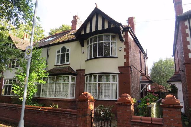 Thumbnail Semi-detached house to rent in Holmwood Road, Didsbury, Manchester