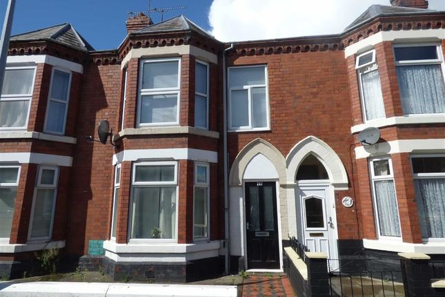 Thumbnail Terraced house for sale in Walthall Street, Crewe