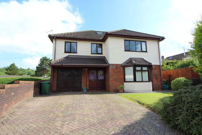 Thumbnail Detached house for sale in Pennar Lane, Newbridge, Newport