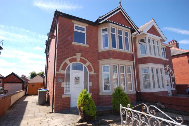 Thumbnail Semi-detached house for sale in St. Martins Road, Blackpool