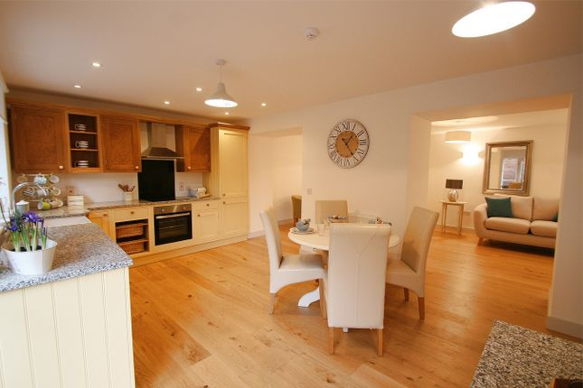 Thumbnail 2 bed flat for sale in 36 High Street, Wickwar, Wotton-Under-Edge, South Gloucestershire