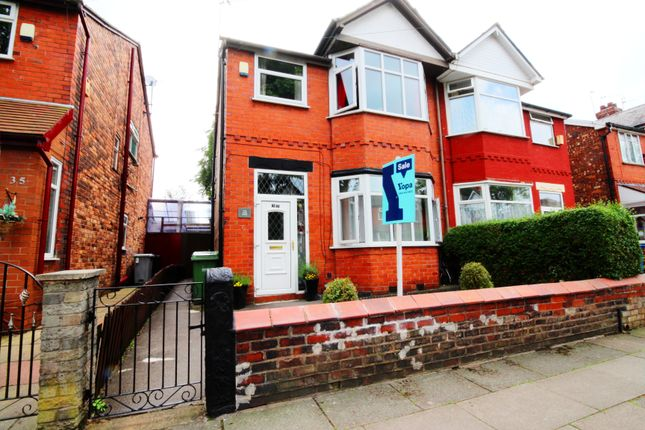 Thumbnail Semi-detached house for sale in Grange Avenue, Stretford, Manchester