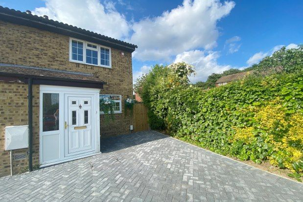 Thumbnail End terrace house to rent in Wren Close, Orpington