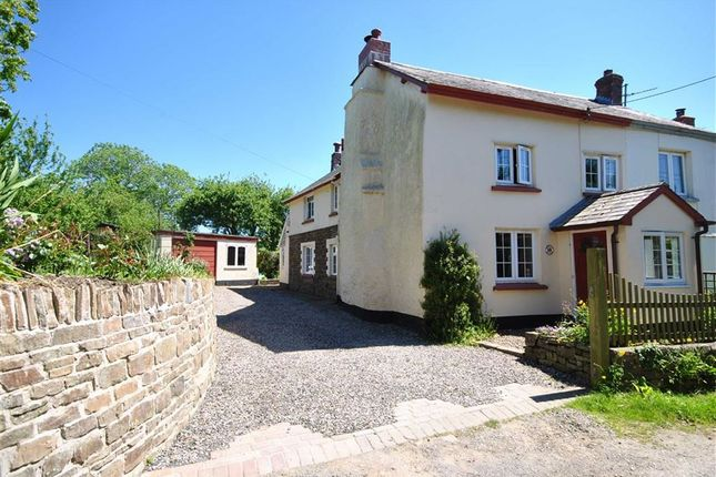 Thumbnail Semi-detached house for sale in Chapelton, Umberleigh