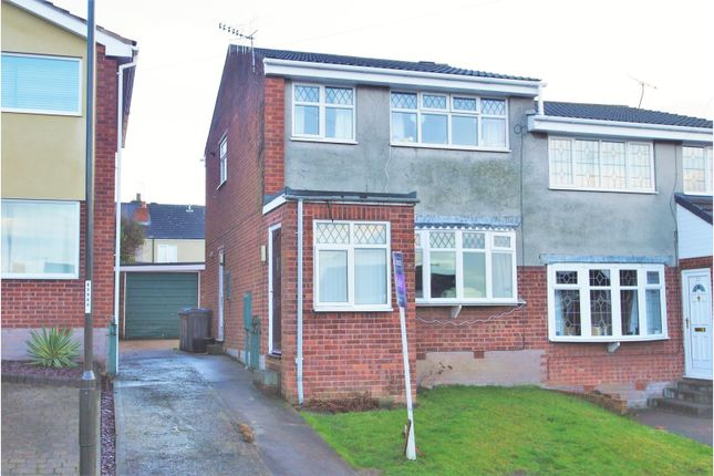 Thumbnail Semi-detached house for sale in Garden Close, Chesterfield