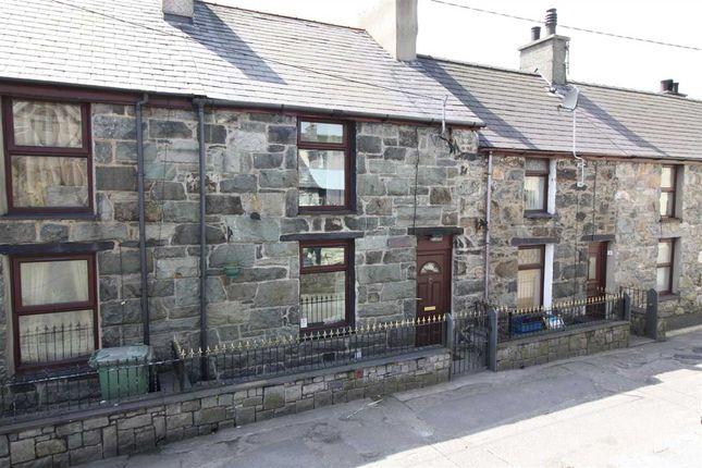 Thumbnail Terraced house for sale in Tabernacl Street, Deiniolen, Caernarfon