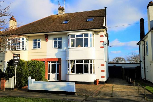 Thumbnail Semi-detached house for sale in Mannering Gardens, Westcliff-On-Sea, Essex