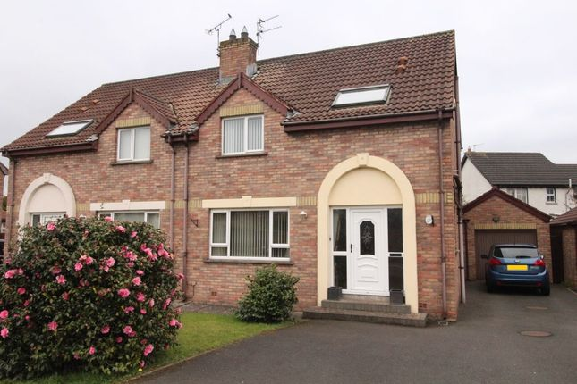 Thumbnail Semi-detached house for sale in Cronstown Cottage Park, Newtownards