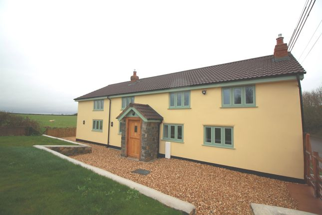 Thumbnail Detached house for sale in Meare Green, Stoke St. Gregory, Taunton