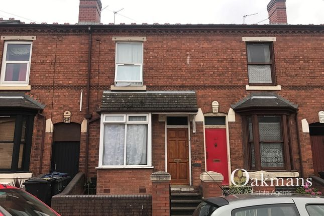 Thumbnail Terraced house for sale in Tiverton Road, Birmingham, West Midlands.