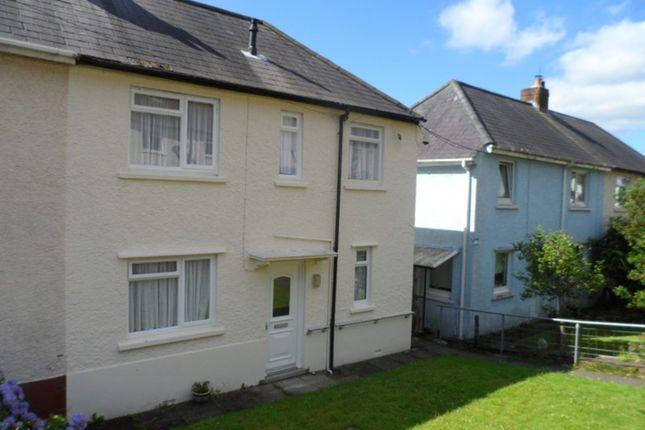 Thumbnail Semi-detached house for sale in Tan Yr Allt, Abercrave, Swansea