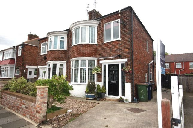 Thumbnail Semi-detached house for sale in Canterbury Road, Redcar