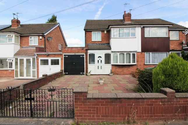 Thumbnail Semi-detached house for sale in Sandringham Avenue, Willenhall
