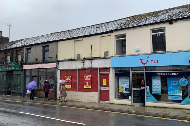 Retail premises to let in 216 High Street, Treorchy, Mid Glamorgan