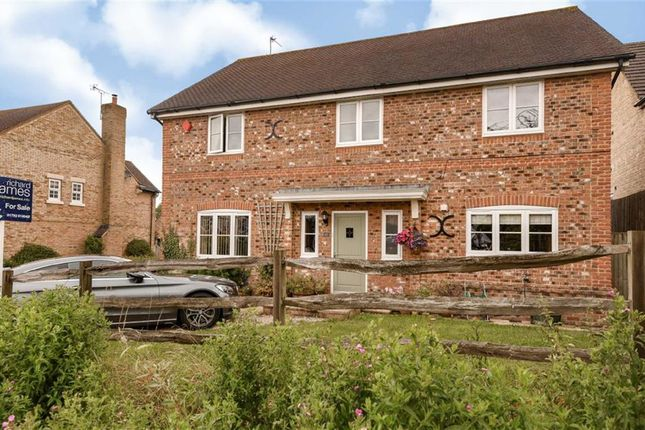Thumbnail Detached house for sale in Jenner Close, Wanborough, Swindon